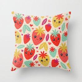 Berry Good! Throw Pillow