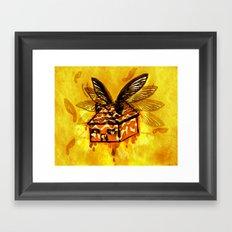 Maple House Fly Framed Art Print