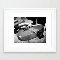 banjo Framed Art Prints featuring Banjo by KimberosePhotography