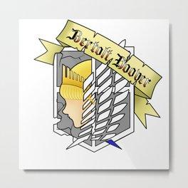 Bertolt Metal Print