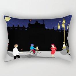 Royal Palace of Madrid Rectangular Pillow