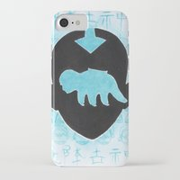 the last airbender iPhone & iPod Cases featuring The Last Airbender by Carmen McCormick