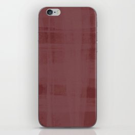 Burgandy & Lace iPhone Skin