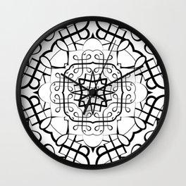 SACRED GEOMETRY II Wall Clock