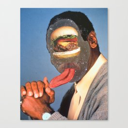 knuckle sandwhich (from god!) Canvas Print