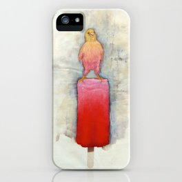 Watermelon Canary Popsicle iPhone Case