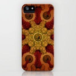 """""""Vintage Antique Starfish Haeckel Mandala"""" iPhone Case"""