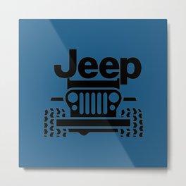 Jeep Classic Metal Print