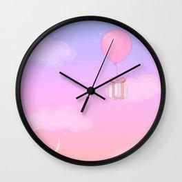 Animal Crossing Sunset Wall Clock