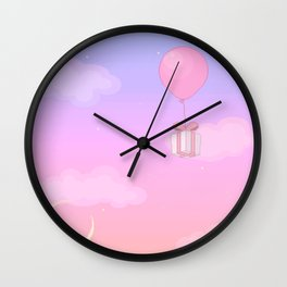 Animal Crossing Sunset Wall Clock