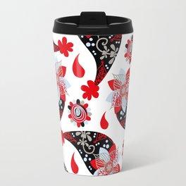 Paisley pattern #D2 Travel Mug