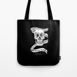 Troubled soul  Tote Bag