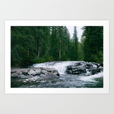 The River is Wild Art Print