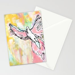 Dove In Color Stationery Cards