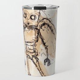 Overly Caffeinated Godbot Travel Mug