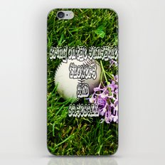 First Day of Spring iPhone & iPod Skin
