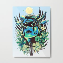 Hathor (Cool) Metal Print