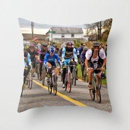 Happiest half hour SSCX Throw Pillow