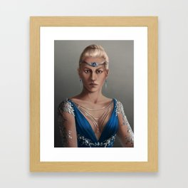 The High Queen Framed Art Print