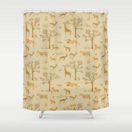 Safari in the Serengeti Shower Curtain