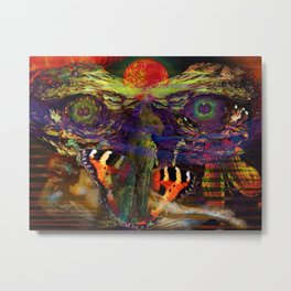 Awake inside Environmental Dream Metal Print