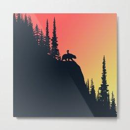 Friends Colors Metal Print
