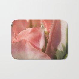 Rose and Green Tulip 2 by Teresa Thompson Bath Mat