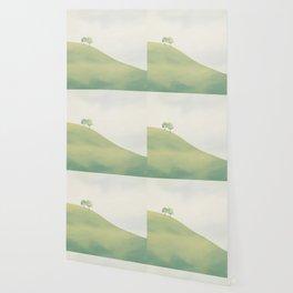 Green Sunny Field III Wallpaper