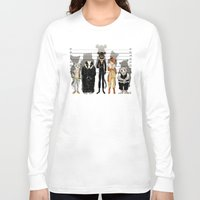 high Long Sleeve T-shirts featuring Unusual Suspects by castlepöp