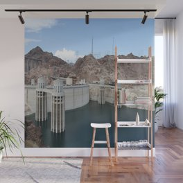 Hoover Dam And Lake Mead Wall Mural