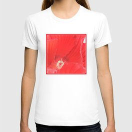 Red Hibiscus   Flower   Flowers   Nadia Bonello   Canada T-shirt