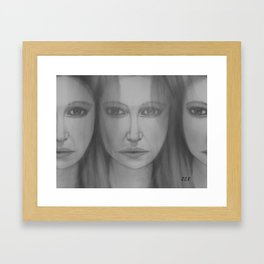 Confusion by Saribelle Rodriguez Framed Art Print