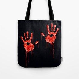 Halloween Hands Tote Bag