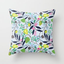 Fruits of Sri Lanka Throw Pillow