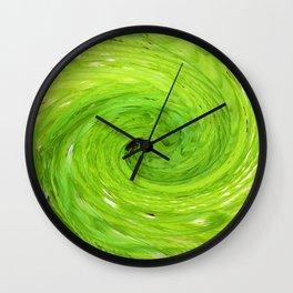 500 - Abstract Fern Design Wall Clock