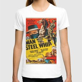 Vintage poster - Man with the Steel Whip T-shirt