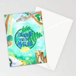 Medilludesign Ecotherapy Forest 2 Stationery Cards