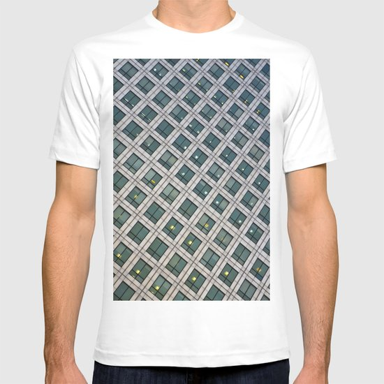 Canary Wharf Windows T-shirt