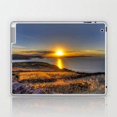 A Titicaca Sunset Laptop & iPad Skin
