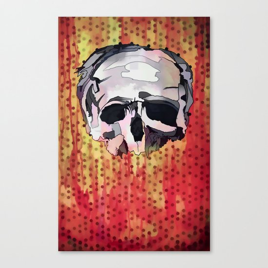 Skully. Canvas Print