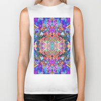 trippy Biker Tanks featuring TRIPPY by IZZA
