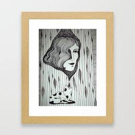 desagotando hasta el alma Framed Art Print