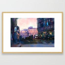 The Royal Mile in Edinburgh Framed Art Print