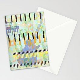 MUSIC RECORDING STUDIO Stationery Cards