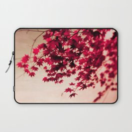 Red Fall Leaves Laptop Sleeve