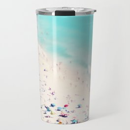 beach love III square Travel Mug