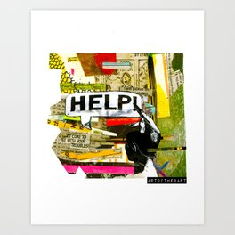 Come To Me With Your Troubles Art Print