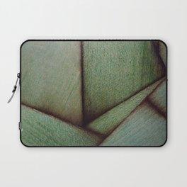 Beautiful Unique maple green wood veneer design Laptop Sleeve