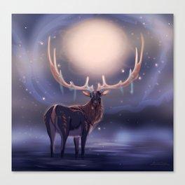 Fantasy Deer Canvas Print