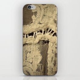 Buttons & Lace iPhone Skin